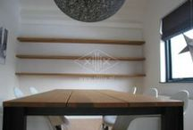 Op maat gemaakte tafels / Handgemaakte hoge kwaliteit tafels