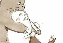 Ghiblin, Disney.  Totoro, pokemon ynm.
