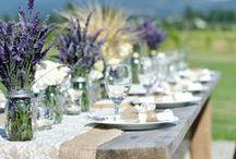 TAVOLI || TABLE SETTING / Ispirazioni per decorare i tavoli del tuo matrimonio.
