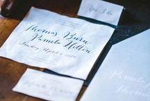 PARTECIPAZIONI || STATIONARY / Ispirazioni per la grafica degli inviti al tuo matrimonio.
