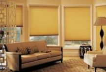 Duette® Honeycomb cellular shades by Hunter Douglas / Beautiful, functional, efficient Duette® elevates your room to another level. Insulating honeycomb cells make your home more comfortable, and a huge selection of fabrics and colors for every design taste.