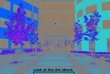 Зрительные иллюзии / Черно-белые фотографии кажутся цветными из-за последовательного контраста