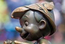 Pinocchio / Figurine en bois