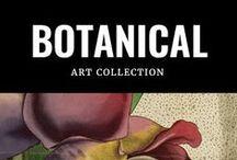 My Botanical Art / Unieke collectie botanische art prints www.artwallcollection.com