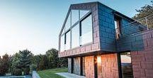 Inspiration Fassade / Moderne und klassische Objekte mit schöner Aluminiumfassade von PREFA mit 40 Jahren Materialgarantie
