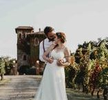 COUNTRY / Shoots and landscape from destination weddings in Tuscany and magic rolling hills (Italy)