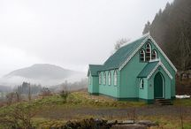 """Tin shed / Or as it is known in Ireland """"crinkly iron"""" i would love one at Trulli Mimosa / by liz clery"""