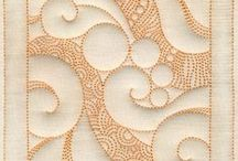 Quilting textures/patterns / machine quilting