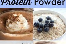 Packed with Protein / Adding protein powder to recipes