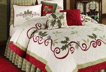 Christmas Quilts / Inspiration for Christmas quilts, Christmas Table Runners, Christmas Stockings, Christmas Gifts, Christmas Everything Quilty