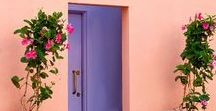 Architecture & Lovely Places / Ideas and inspiration for exceptional buildings and homes /// colorful exteriors, lively living, colorful outdoor, unique architecture, beautiful buildings, modern architecture, bohemian, eclectic, fun places, beach