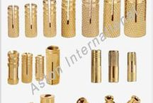 Brass Components, Fasteners Manufacturer / Aston International is loacted at Jamnagar, Gujarat and it is the leading manufacturer and supplier of all type of Brass products like Brass Anchor, Brass Nuts, Brass Coupling, Brass Ball Valve, Brass Fasteners, Brass Hose Fittings, Brass Components, Brass Pipe Fittings, Brass Nipple and may more.