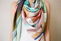 scarves <3 / by Angie Thomas