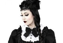 Gothic / gothic, gothic lolitas, gothic fantasy, graveyards and halloween inspiration