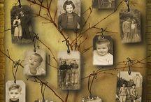 Family tree ideas / by Sheryl Merritt
