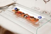glass plate - restaurant