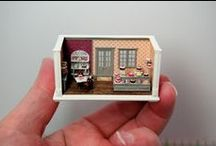dollhouse Roombox mini inspiration / by Lena Wennberg