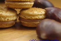 53 Macarons Cupcakes et Cheesecakes / Recipes of Macarons and cupcakes