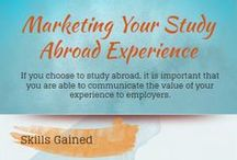 Alumni Resources / Market your study abroad experience and continue to look for ways to engage with the international community.  Get a degree or job abroad!