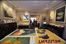 Tour of the Gallery / A photographic tour of our gallery located at 205 Newbury St, Boston MA, open daily. Come visit! Shop our collection of original vintage posters from the 1890s to the present on our website: http://www.internationalposter.com/ / by International Poster Gallery