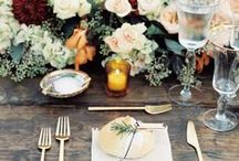 Our Favourite Autumn Wedding Inspiration / We're sharing some of our favourite inspiration from Autumnal weddings across Pinterest.