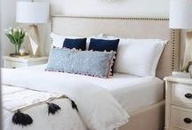 Bedroom Decor / Bedroom decor inspiration, bedroom decor, shabby chic bedroom, farmhouse style bedroom, farmhouse bedroom, fixer upper bedroom