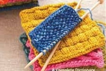 Knitting and Crocheting Projects / by Melissa Hall