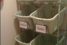 Organization / My first organization pinboard with ideas on how to organize your life / by Donna Chapin