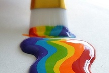 Somewhere Over the Rainbow / This board is for my son. He likes rainbows and I am helping him out by pinning interesting rainbow designs.  / by Anita Self
