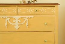 Restyled Furniture / Check out my Facebook page My Restyle for more great furniture ideas  https://www.facebook.com/HopelessToHipRestyledVintageFurniture / by Penny Atkinson