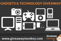 Gadgets / Technology & Accessories Giveaways / Gadgets and Gizmo / Technology & Accessories Related Free Giveaways or Contests or Sweepstakes. From Laptops to Tablets and Smart Phones and more.  All gadgets for home, gadgets for men, gadgets for kitchen, all gadgets and gizmos.