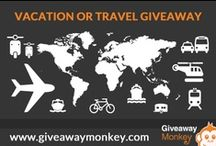 Vacation & Travel Giveaways / Vacation & Travel Related Free Giveaways or Contests or Sweepstakes. From Free Hotel Bookings to Free Airfares to your favorite destination and more.