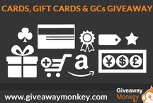 Cash & Gift Cards Giveaways / Cash and Gift Cards Related Free Giveaways or Contests or Sweepstakes. From PayPal Cash to Amazon Gift Cards or Amazon Promo Codes or iTunes Gift Cards and such...