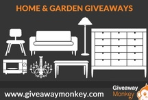 Home, Garden, and Furniture Giveaways / Home, Garden, and Furniture Related Free Giveaways or Contests or Sweepstakes. From One Set Sofa to Some Cool Home Gadgets and some for your kitchen and a lot more... Visit Us at: giveawaymonkey.blogspot.com