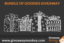 Various or Bundle of Goodies Giveaways / Various Free Giveaways or Contests or Sweepstakes. Visit Us at: giveawaymonkey.blogspot.com