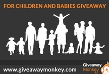 Toys, Children & Babies Giveaways / Toys, Children & Babies Related Free Giveaways or Contests or Sweepstakes. Children will love this board! Visit Us at: giveawaymonkey.blogspot.com