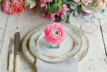 All The Pretty Tables / table decor & table settings & tableware & cutlery & tableware