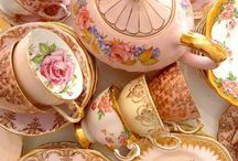 Tea cups...so pretty / by Justene Spawforth