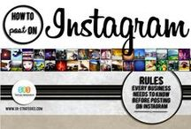 Instagram Tips / Using Instagram for fun and business.