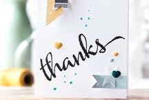 Thank You/Congratulation Cards