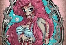 Princess disney horror