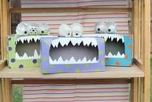 Maybe plans / Potential lesson plans for my K-6 art program.  / by Abigail Wolf