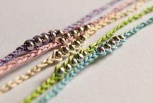 Making Bracelets / Friendship/bead bracelet patterns and tutorials