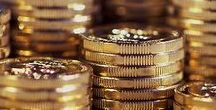 ♣ Money ♣ / Todo el dinero del mundo, dolares, euros, francos suizos, oro, plata, monedas, billetes....