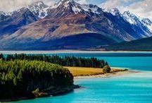 Travel || New Zealand / Dream Travel Destinations in New Zealand