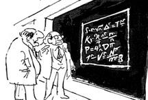 Cartoons - math, homework / by Andrea Rogatski
