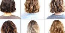 Hair / Haircuts and styles I love!