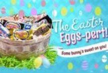 The Easter Eggs-perts! / http://elmerchocolate.com/easter