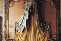 Beautiful Bedchambers / Lavish bedrooms & boudoirs from throughout history...