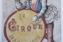 vintage circus & sideshow